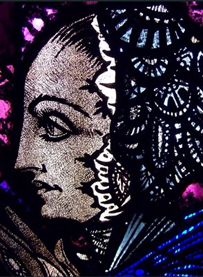 Conservation of Harry Clarke Windows13