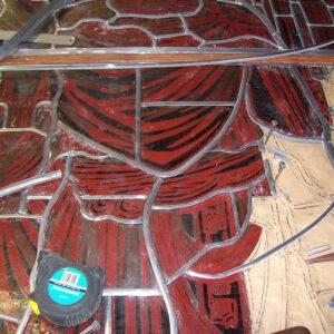Harry Clarke studio windows