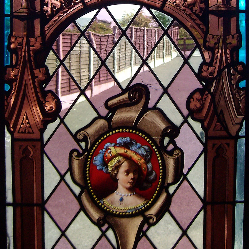 Ecclesiastical irish stained glass