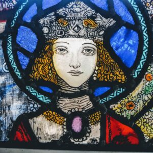 Harry Clarke inspired stained glass